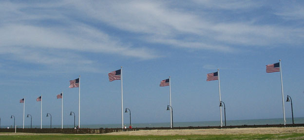 All Star Flags Myrtle Beach Boardwalk Flagpoles