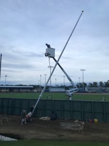 40' Flagpole Installation
