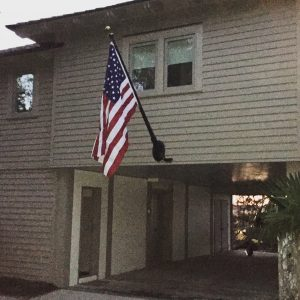 Outrigger Flagpole