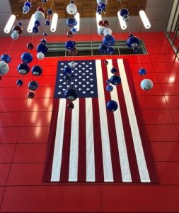 15ft x25ft Sewn American Flag