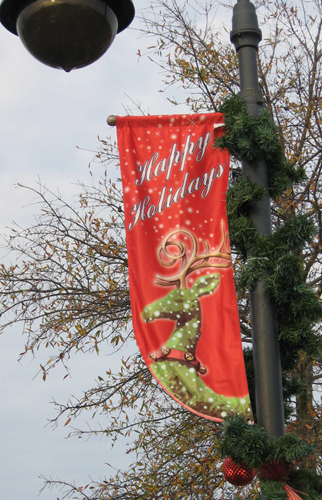 Custom Light Pole Banners