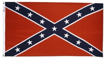 Confederate Navy Jack Flag