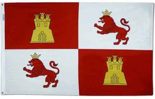 Lions and Castles Royal Standard Flag