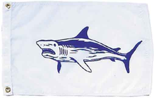 Shark Fish Flag