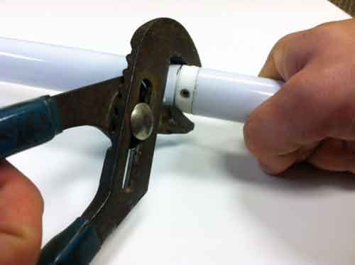 Spinning Flagpole Tighten Pliers