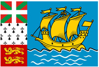Saint-Pierre Miquelon Flag