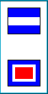 JW Signal Code Flag Message