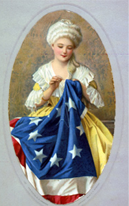 Betsy Ross Sewing